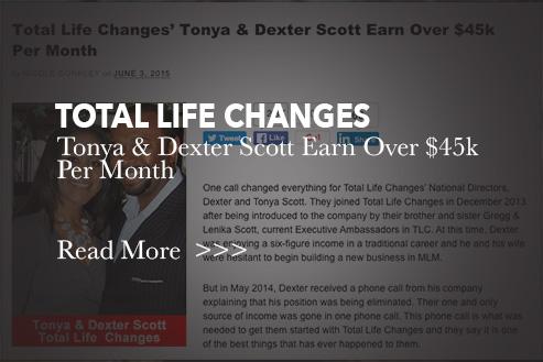 Dexter and Tonya Scott Earn over $45K Blog